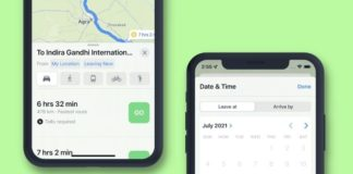 How to Set Leaving and Arrival Times for Driving Directions in Apple Maps