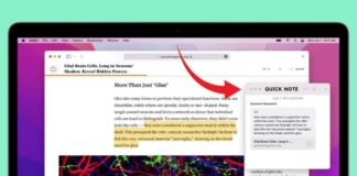 How to use Quick Note in macOS Monterey