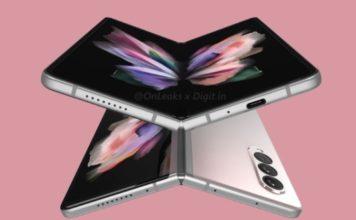 More Galaxy Z Fold 3 Renders Leak Online; Show off Color Variants
