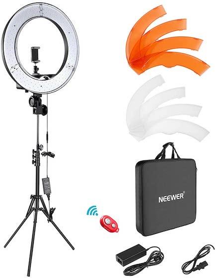 Комплект кольцевого освещения Neewer-