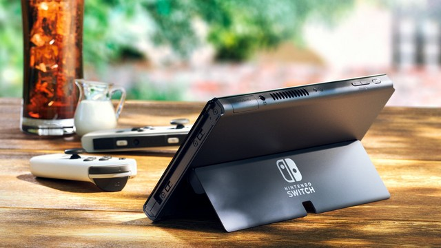 Nintendo Switch OLED With a Bigger Display, Improved Audio Launched