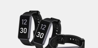 Realme Band 2 Renders and 360-Degree View Surface Online