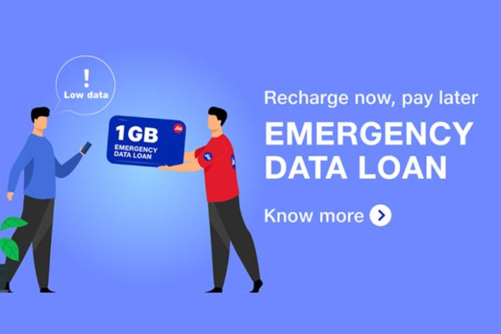 Reliance Jio Emergency Data Loan Offers 1GB Data for Rs.11; Here's How to Claim