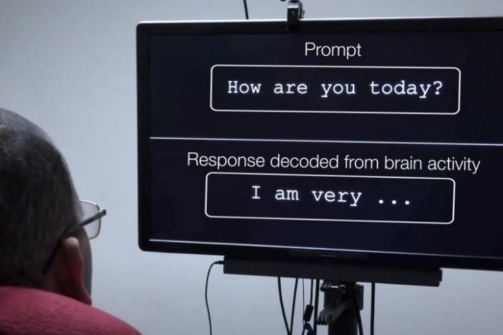 New Brain Implant System Enables a Paralyzed Man To Speak