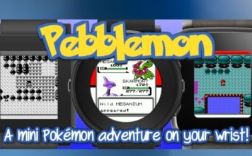 Check Out This New Pokemon Game That Runs on Your Pebble Smartwatch