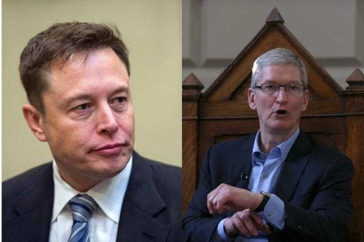 """Here Is Why Apple's Tim Cook Said """"F*** You"""" to Elon Musk"""
