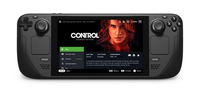 Valve Launches a Switch-Like Steam Deck Gaming Console
