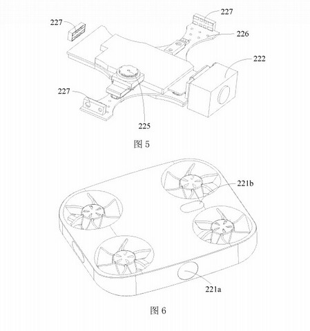 Vivo phone with flying camera