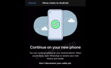WhatsApp May Want You to Connect Devices with a Cable for Chat Migration