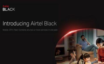 airtel black announced