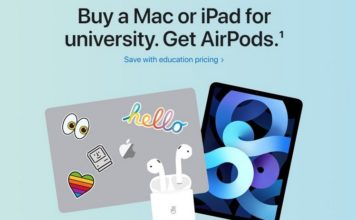 Apple Launches Back to School Discount Program in India