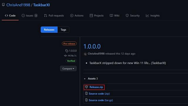 download taskbar xi