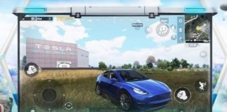 drive a tesla and visit gigafactory in pubg mobile