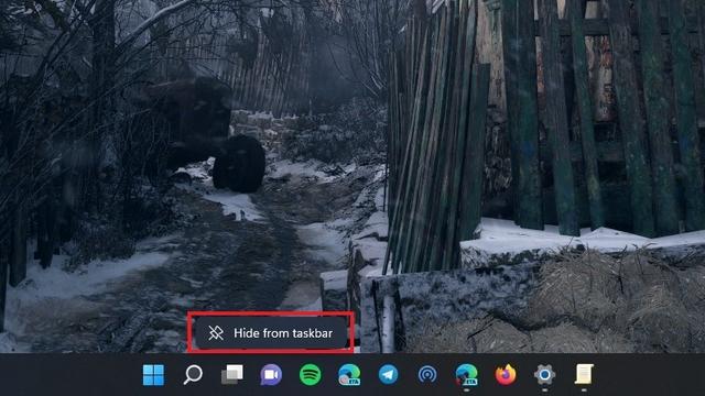 Chat aus Windows 11 Taskleiste ausblenden