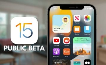 how to download and install iOs 15 public beta
