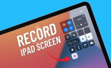 how to record iPad screen