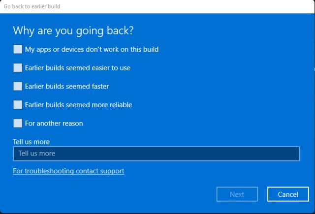 Roll Back to Windows 10 From Windows 11 (2021)