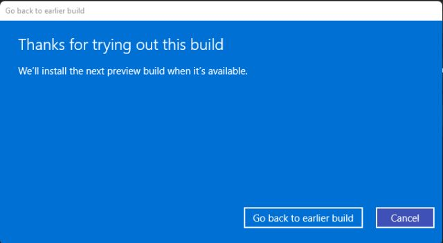 Downgrade to Windows 10 From Windows 11 Within 10 Days