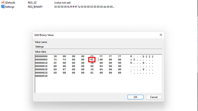 move taskbar to top windows 11