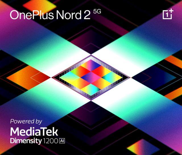 oneplus nord 2 5G - custom Dimensity 1200 chip