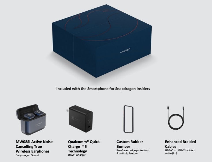 qualcomm snapdragon phone - whats in the box