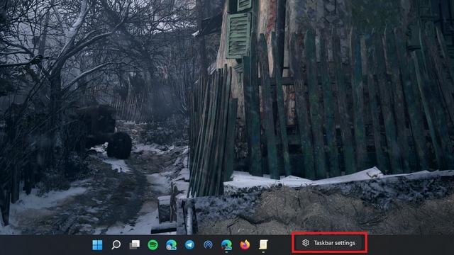 Taskleisteneinstellungen anzeigen Windows 11