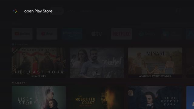 How to Access the Full Play Store on Google TV