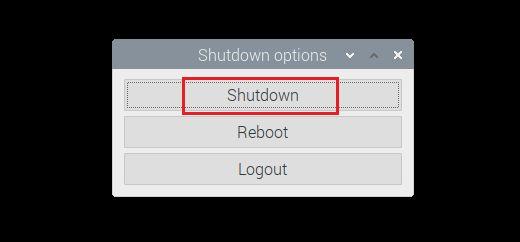 Reboot Raspberry Pi