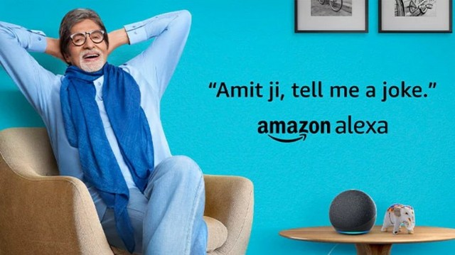 Amazon Adds Amitabh Bachchan as the First Celebrity Voice for Alexa Devices in India