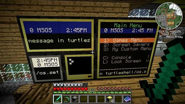Computer Inside Minecraft mod