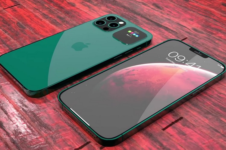 Concept iPhone small notch 2