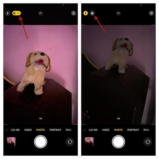 Nachtmodus auf dem iPhone deaktivieren