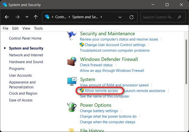 How to Enable Remote Desktop in Windows 11