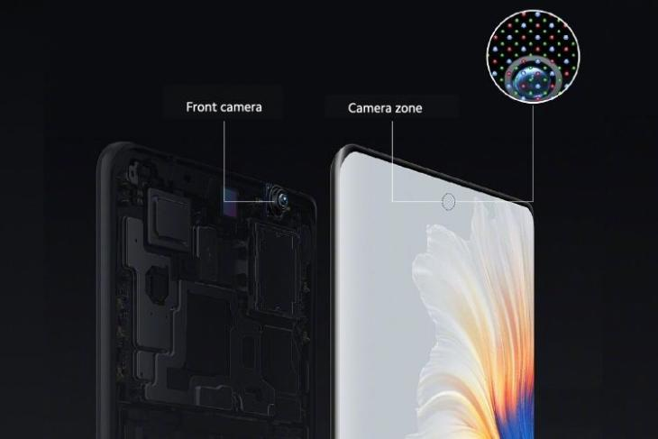 Here's How Xiaomi Mi Mix 4's Under-Display Camera Works