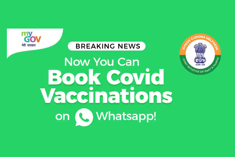 How to Book COVID-19 Vaccination Slots on WhatsApp