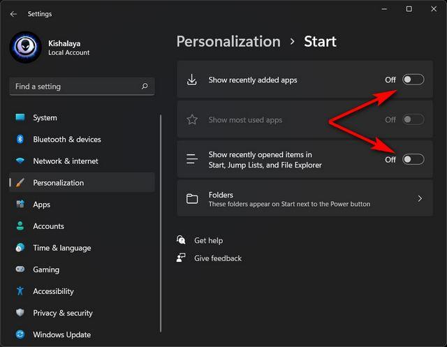 Le migliori impostazioni di Windows 11