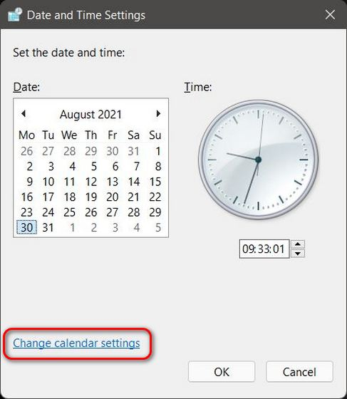 How to Change Date and Time in Windows 11