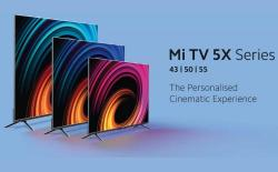 Mi TV 5X Series with 4K HDR Panel, 40W Stereo Speakers Launched in India