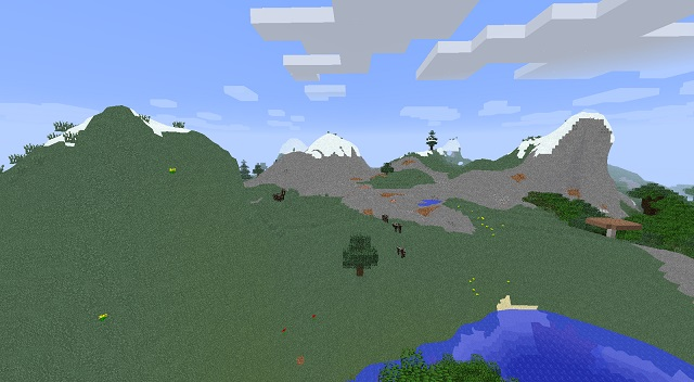 No Cubes Mod for Minecraft