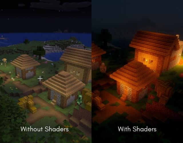 OptiFine Shaders Comparison