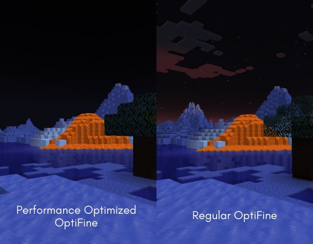 Performance Optimized OptiFine