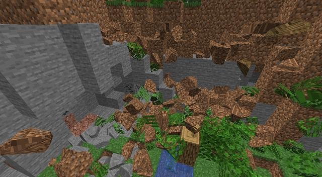 Physics Mod for Minecraft