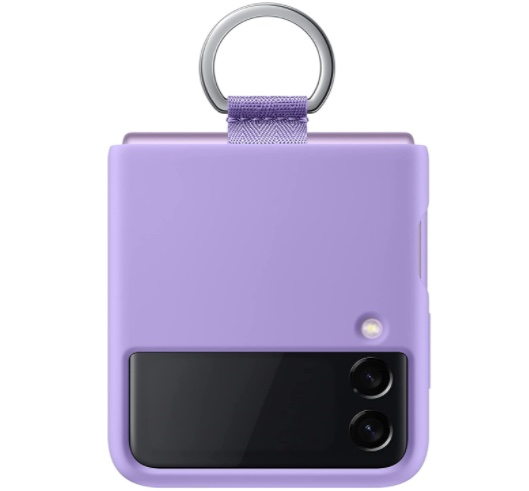 Samsung Galaxy Z Flip 3 Silicone Cover with Strap