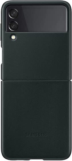 Samsung Leather Case- 12 Best Galaxy Z Flip 3 Cases and Covers You Can Buy