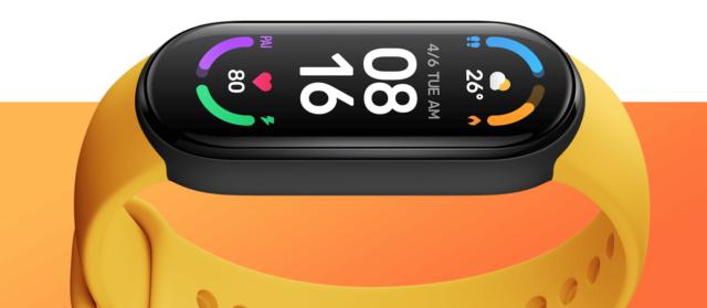 mi smart band 6 display