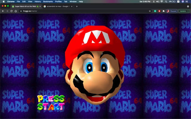This Super Mario 64 Version Runs in a Web Browser on Your iPhone, iPad, or Mac