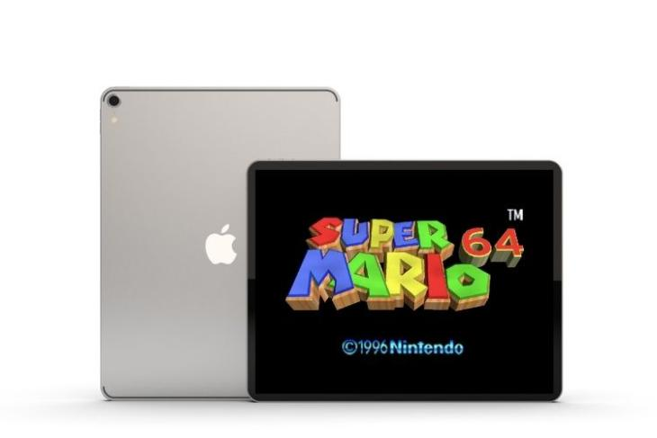 Super Mario 64 on mac feat.