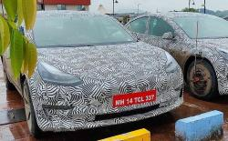 Tesla Model 3 Spotted in India Again
