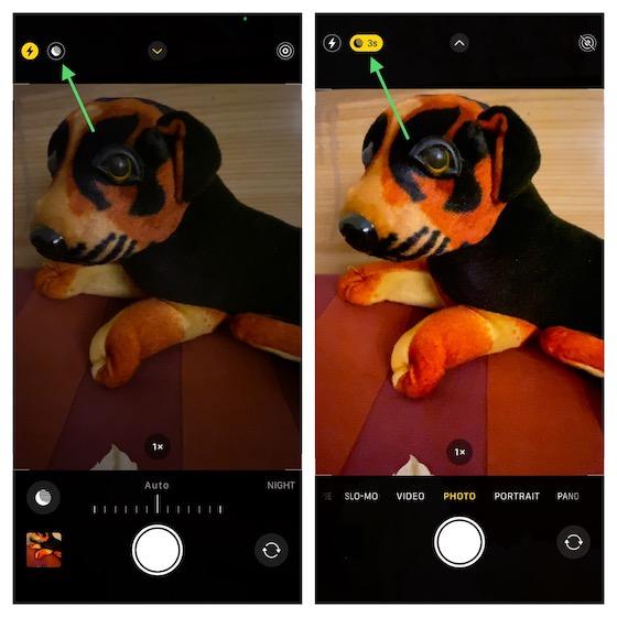 manuell Nachtmodus auf dem iPhone aktivieren