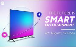 Xiaomi Teases Mi TV 5X Ahead of Launch on August 26